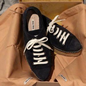 💥MIU MIU💥 by Prada platform sneakers